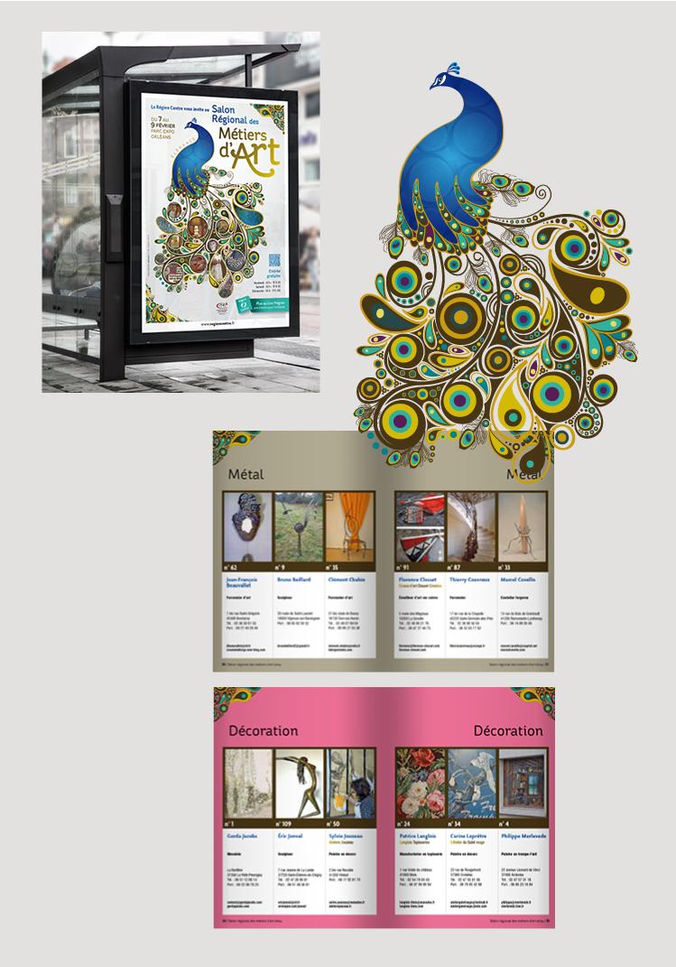 exemple-affiche-communication-évenement-salon-métiers-dart-neologis