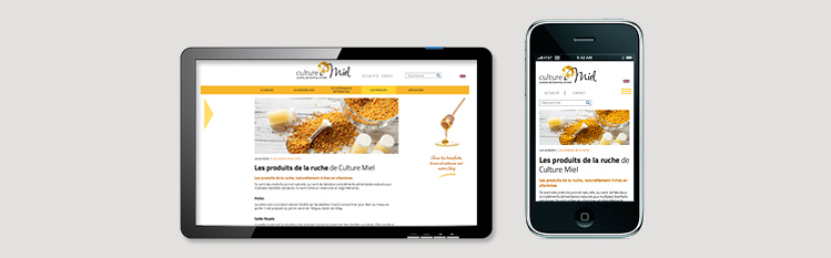 site-internet-vitrine-responsive-culture-miel-neologis
