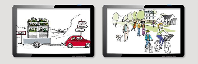 storyboard-vidéo-storytelling-lancement-programme-immobilier-domaine-saranea-Nexity