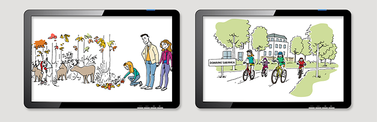 storyboard-vidéo-storytelling-spot-noël-programme-immobilier-domaine-saranea-Nexity